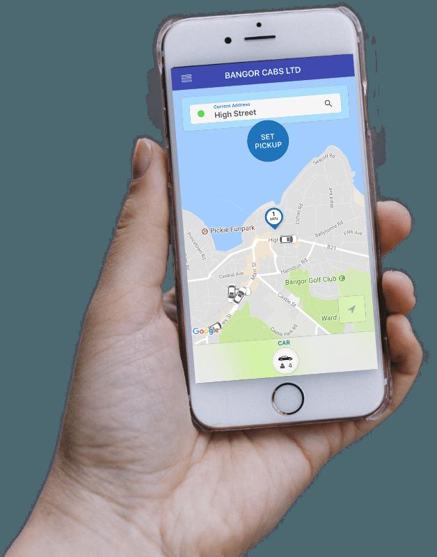 Bangor Cabs Smartphone App